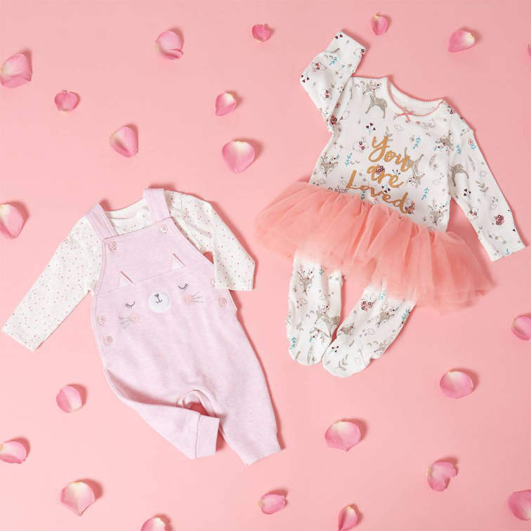Dungaree & Bodysuit set / Tutu Sleepsuit